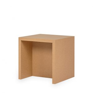 Papercomb   Papphocker   Kartonmöbel   Stella Stool Cardboard