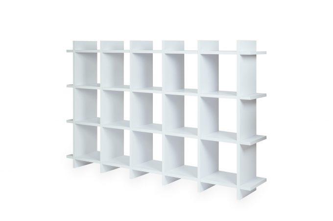 Papercomb   Pappregal   Shelly Shelf Cardboard