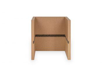Karton Hocker - Stella Brown Grundelement